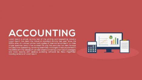 Accounting Metaphor Powerpoint and Keynote template