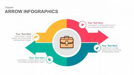 Arrow Infographics Keynote and Powerpoint template