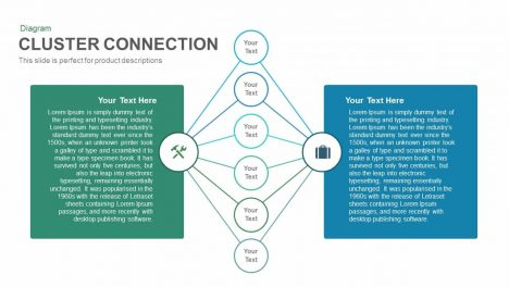Cluster Connection Powerpoint and Keynote template