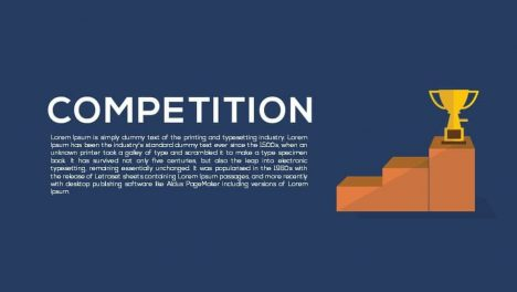 Competition Metaphor Powerpoint and Keynote template