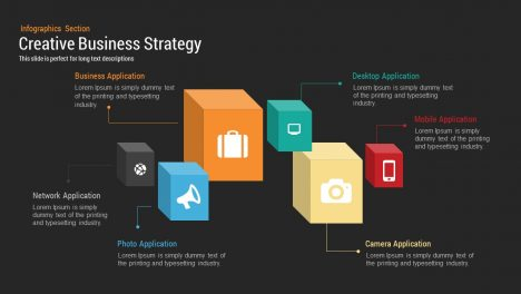 Creative Business Strategy Diagram for PowerPoint
