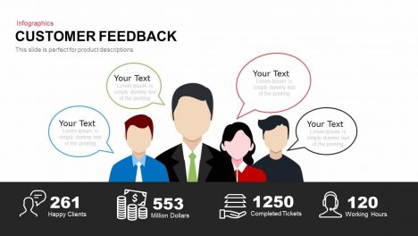 Customer Feedback Powerpoint and Keynote template