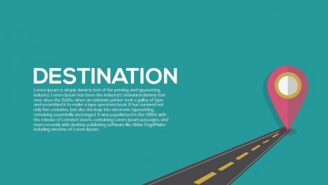 Destination Metaphor Powerpoint and Keynote Template