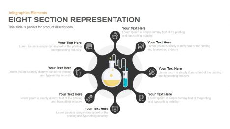 8 Section Representation PowerPoint Template and Keynote