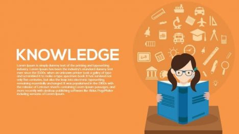 Knowledge Metaphor Powerpoint and Keynote Template