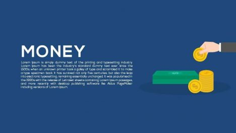 Money Metaphor Powerpoint and Keynote template