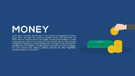 Money Metaphor Powerpoint and Keynote template