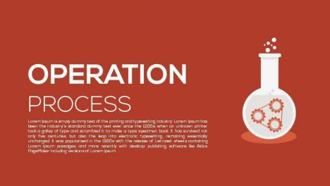 Operation Process Metaphor Powerpoint and Keynote template
