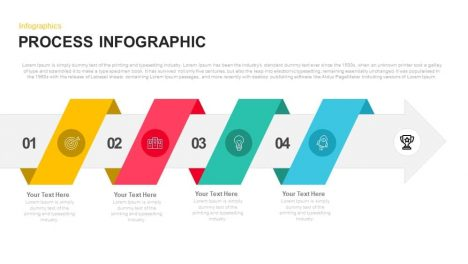 Process Infographic Powerpoint and Keynote template