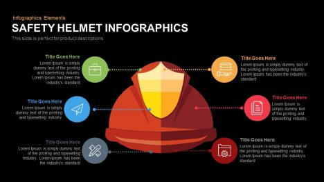 Safety Helmet Infographics Powerpoint Keynote