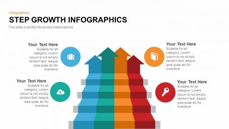 Step Growth Infographics PowerPoint Template and Keynote Slide