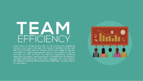 Team Efficiency Metaphor Powerpoint and Keynote template