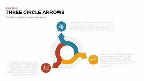 Three Circle Arrows