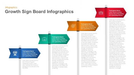 growth signboard infographics keynote and powerpoint template