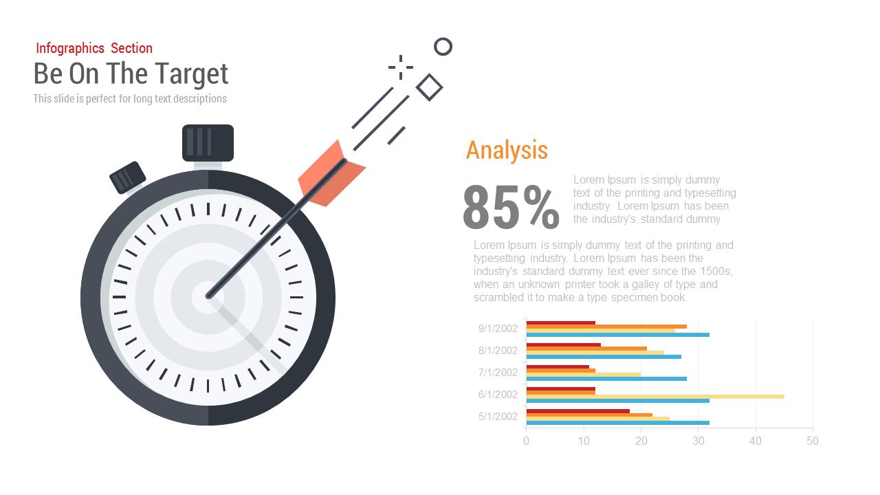 be on the target powerpoint template and keynote slidebazaar