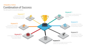Combination of Success PowerPoint Template | Ppt Presentation & Keynote Slides