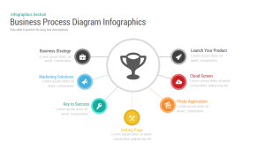 Business Process Diagram Infographic Template forPowerPoint and Keynote