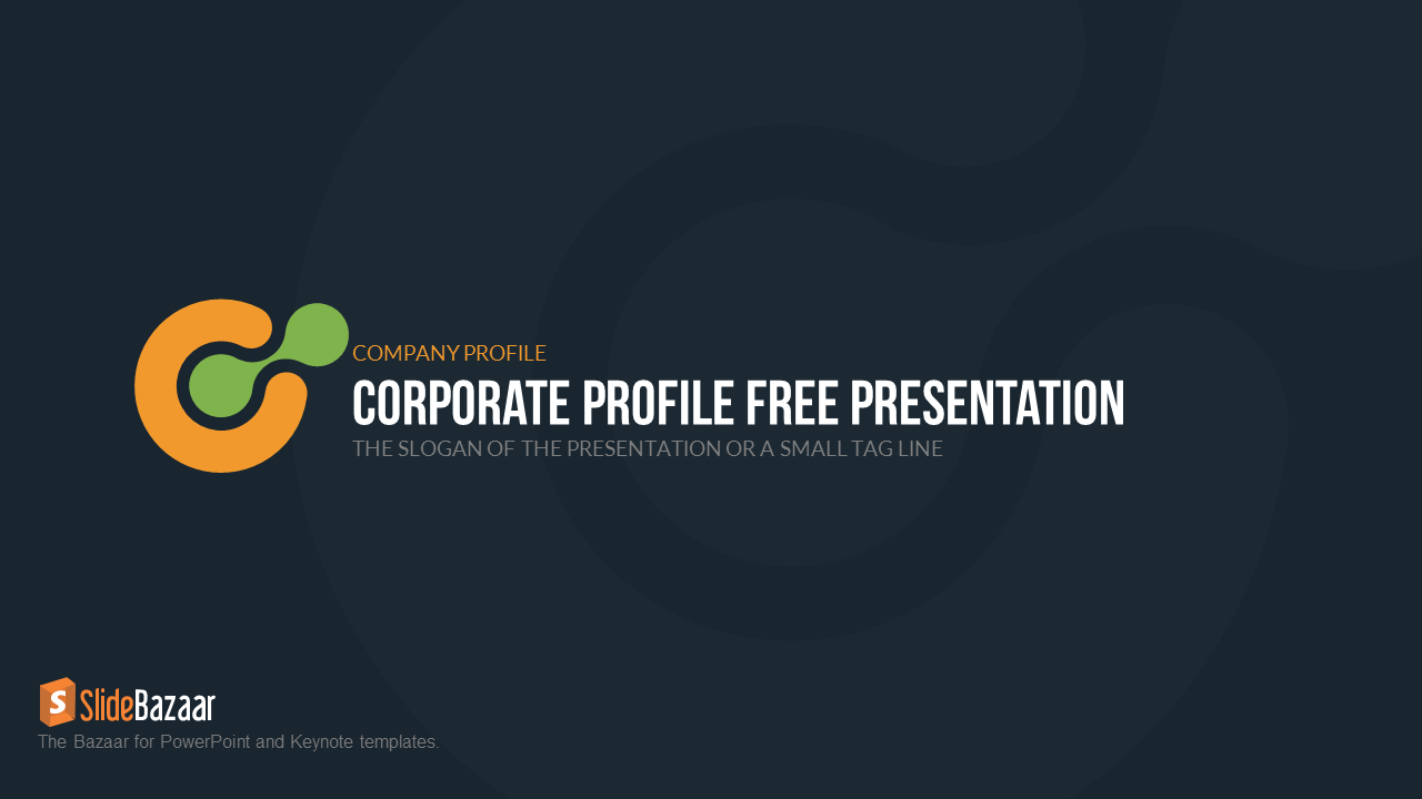Company profile powerpoint template free slidebazaar company profile free powerpoint template 1 cheaphphosting Choice Image