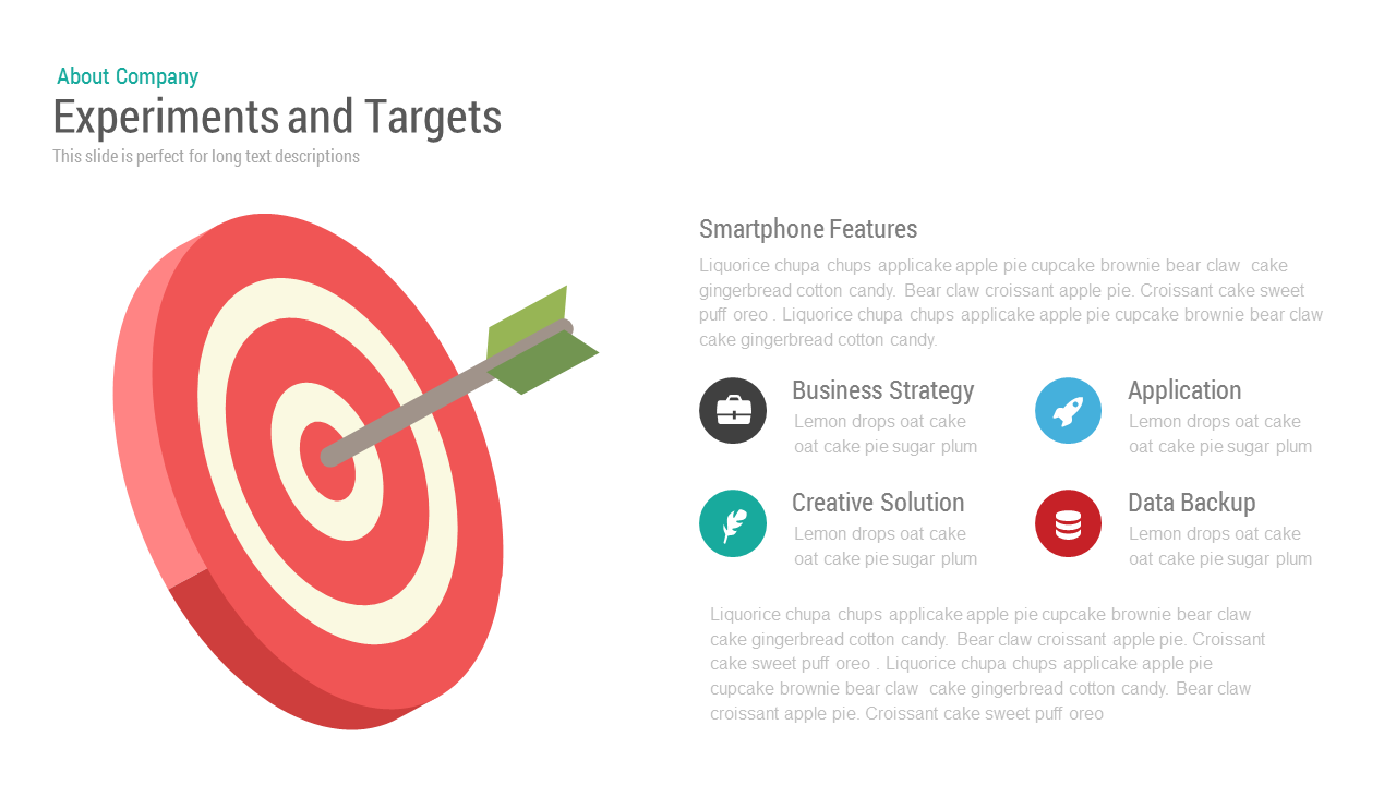 experiments and target powerpoint keynote template | slidebazaar, Modern powerpoint
