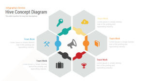 Hive Concept Diagram PowerPoint and Keynote Template
