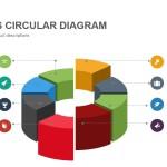 3d Shapes Circular Diagram Powerpoint Keynote template