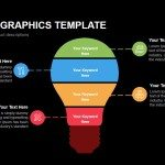 Bulb Infographics Template Powerpoint Keynote