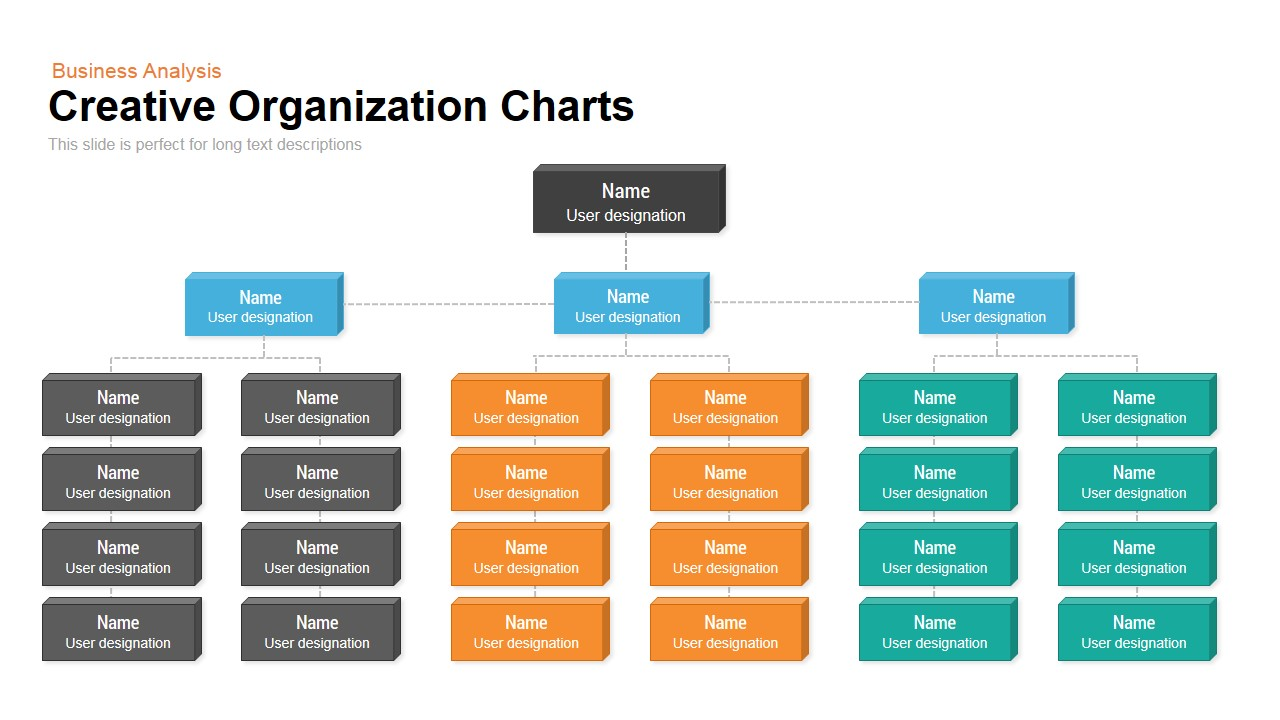 Creative organization chart powerpoint keynote template slidebazaar creative organization chart powerpoint and keynote template toneelgroepblik Choice Image