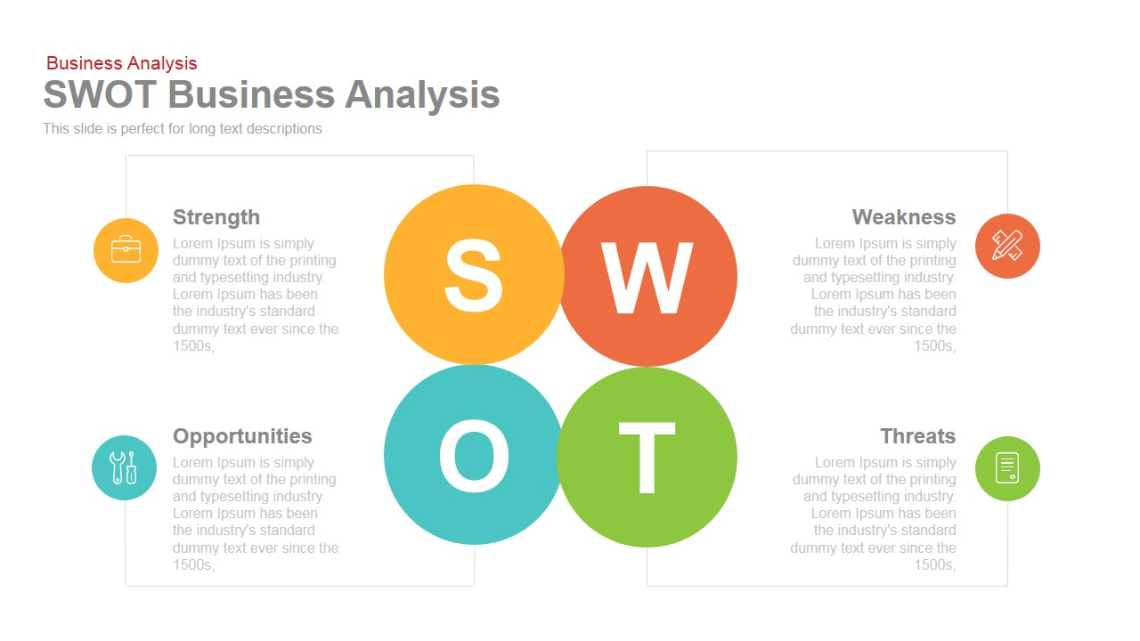 Swot business analysis powerpoint keynote template slidebazaar swot business analysis powerpoint and keynote template alramifo Gallery