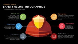 Safety Helmet Infographics PowerPoint and Keynote Template