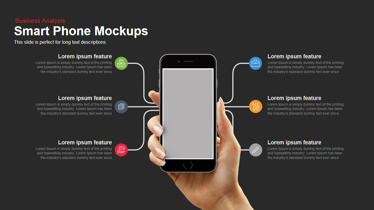 Smartphone mockup powerpoint template and keynote slide slidebazaar smartphone mockup powerpoint template and keynote slide toneelgroepblik Gallery