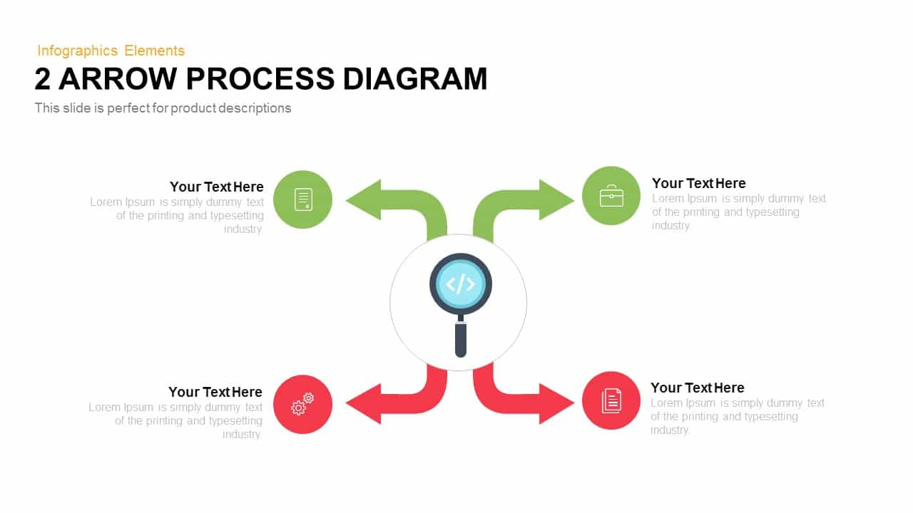 arrow process diagram 2