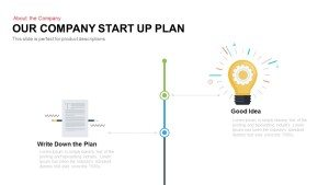 Company Startup Plan Timeline PowerPoint Template and Keynote