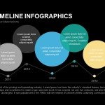 Bubble Timeline Infographics Powerpoint Keynote template
