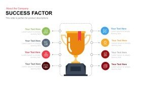 Success Factor PowerPoint Template and Keynote Slide