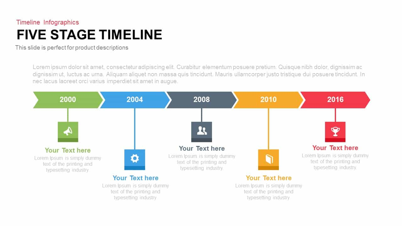 Creative Stage Timeline PowerPoint And Keynote Template SlideBazaar - Timeline template keynote