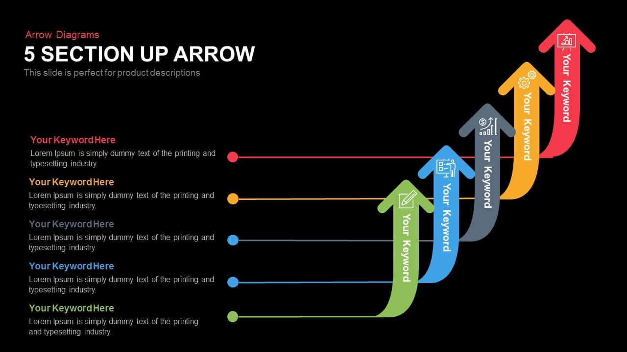 5 Arrow Section Diagram