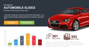 Automobile PowerPoint Template and Keynote Slides
