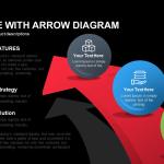 3d Sphere with Arrow Diagram