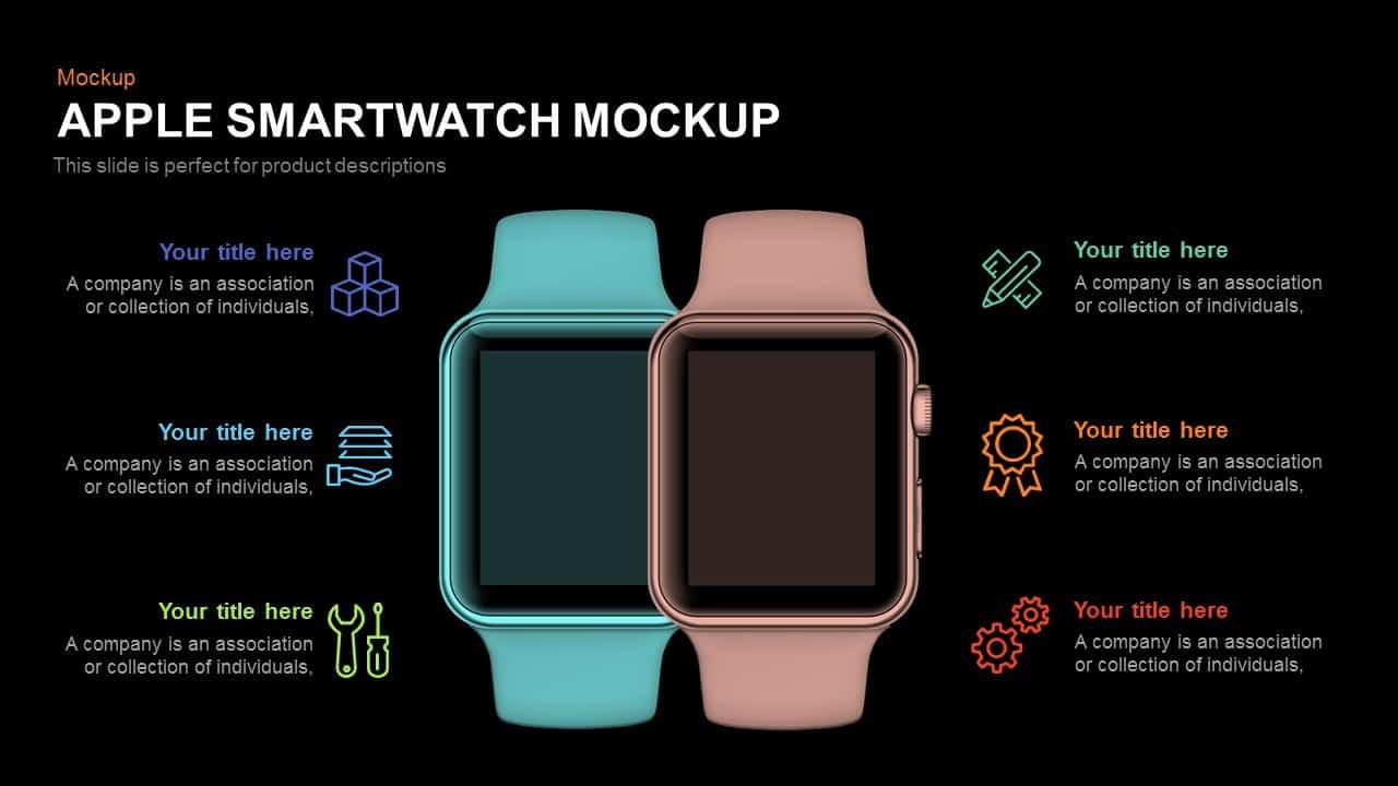 Apple Smartwatch Mockup