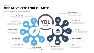 Creative Organic Chart PowerPoint Template and Keynote Slide