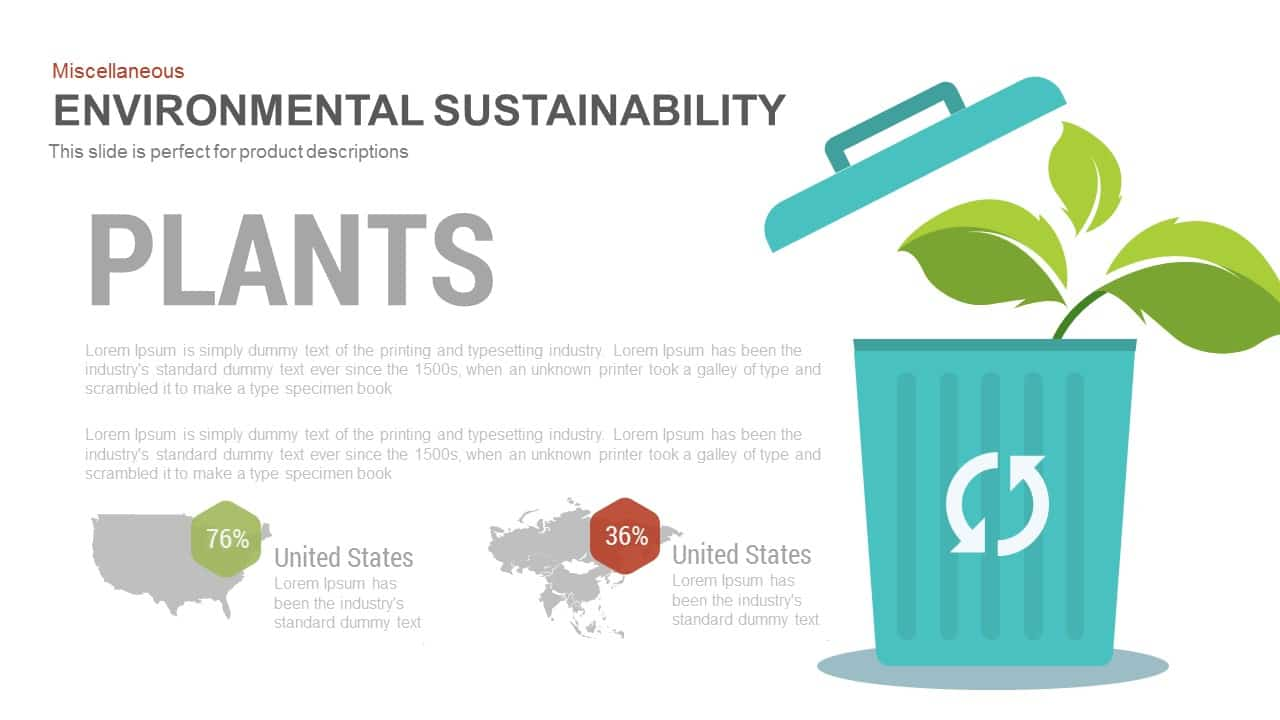 Environmental Sustainability PowerPoint Presentation Template