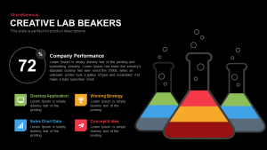 Creative Lab Beaker PowerPoint Template and Keynote