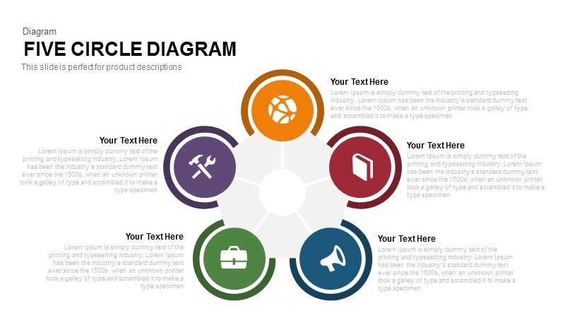 Circle Diagram Powerpoint And Keynote Template