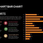 Report Bar Chart Powerpoint and Keynote template