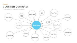 Cluster Diagram PowerPoint Template and Keynote
