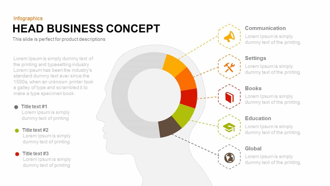 Head business concept powerpoint and keynote template slidebazaar head business concept powerpoint and keynote template cheaphphosting Images