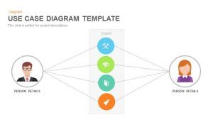 Use Case Diagram PowerPoint Templateand Keynote Slide