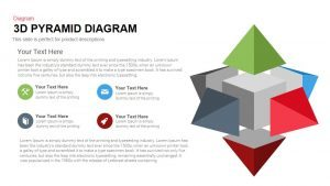 3d Pyramid PowerPoint Template and Keynote Diagram