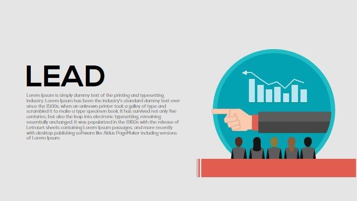 Lead Metaphor Powerpoint and Keynote Template