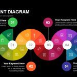 Pie Segment Diagram Powerpoint and Keynote template